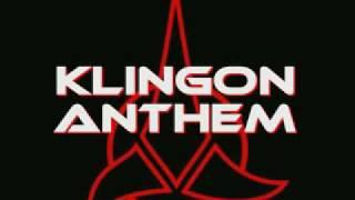 Repeat youtube video STAR TREK - The Klingon Anthem