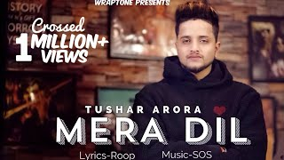 MERA DIL | TUSHAR ARORA (Official Video) New Punjabi Songs 2019 | WrapTone