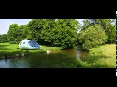 Amazing concept futuristic pod house