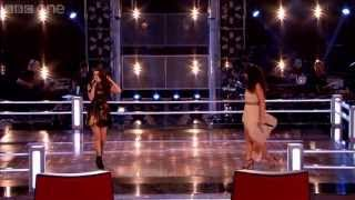 The Voice UK 2013 | Sarah Cassidy Vs Katie Benbow - Battle Rounds 1 - BBC One