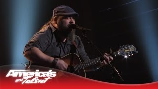 "Dave Fenley - Spice Girls' ""Say You'll Be There"" Cover - America's Got Talent Semi-Finals 2013"