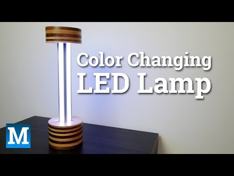 How to Make a Color Changing LED Lamp