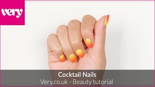 Cocktail Nails: The Very Nails Tutorial | Very