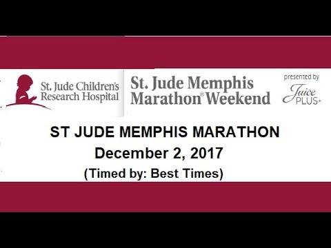 ST JUDE MEMPHIS MARATHON 2017