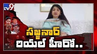 Actress Poonam Kaur in selfie video applauds police