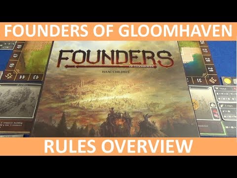 Founders of Gloomhaven  Rules Overview