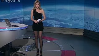 Emma Smetana Beautiful Czech Tv Presenter 01.11.2012