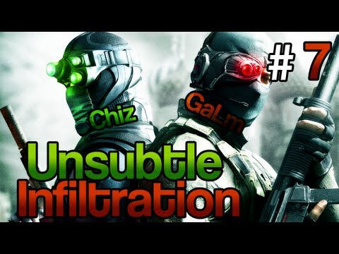 [7] Unsubtle Infiltration (Splinter Cell: Conviction Coop w/ GaLm and Chiz)