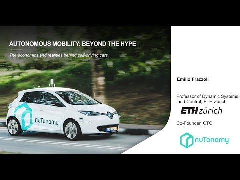 Emilio Frazzoli: Autonomous Mobility – Beyond the Hype (WORLD.MINDS MOBILITY 2018)