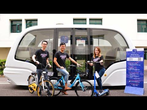 NTU to deploy futuristic-looking autonomous vehicle on campus