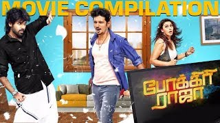 Pokkiri Raja  Tamil Movie | Movie Compilation Scenes | Jiiva | Hansika