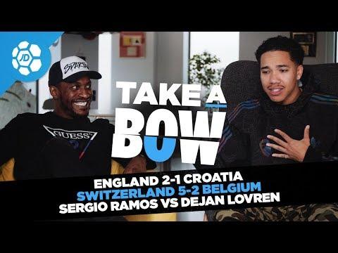 England 2-1 Croatia, Jesse Lingard Rap Parody, Sergio Ramos Vs Dejan Lovren - Take a Bow