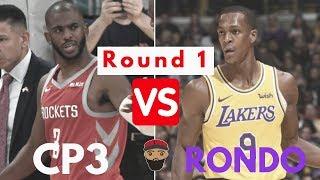 Chris Paul vs Rajon Rondo - Round 1