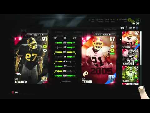 New Legends! 98 Jeff Saturday! 97 Steve Atwater! Too Rare?  ::-XBOX ONE Madden 16 Ultimate Team
