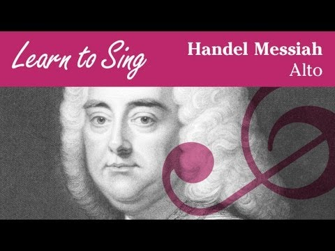 Handel Messiah Alto Part