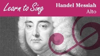 Handel Messiah Alto Part