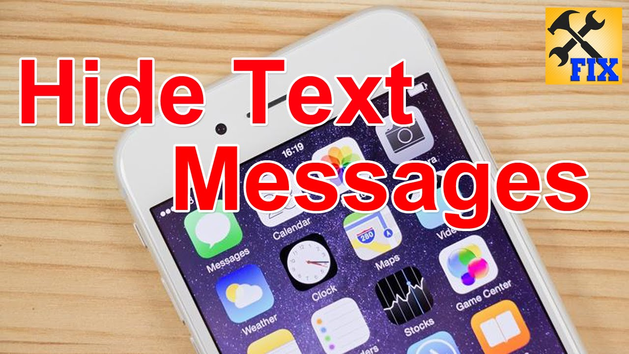 How To Hide Text Messages on iPhone without Jailbreak