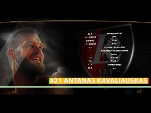 BEKO-LKL savaitės žaidėjas - Antanas Kavaliauskas