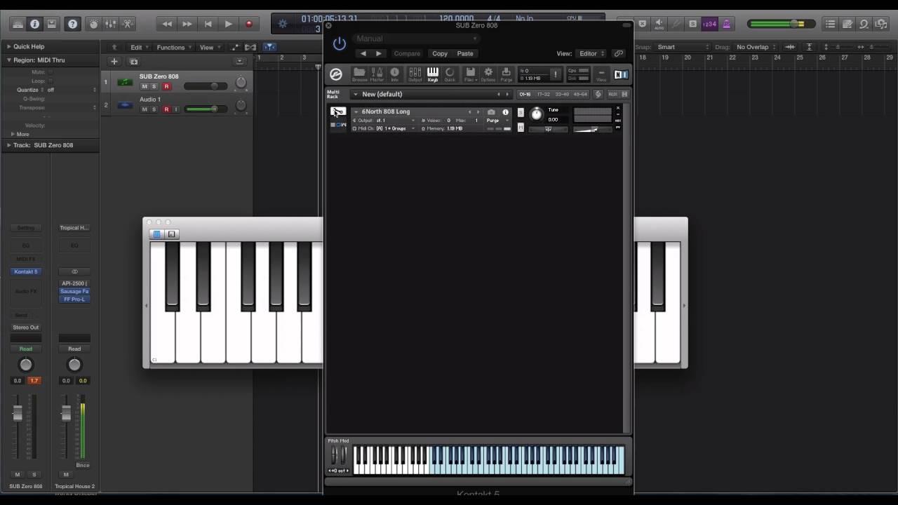 Echo Sound Works Sub Zero 808 Library