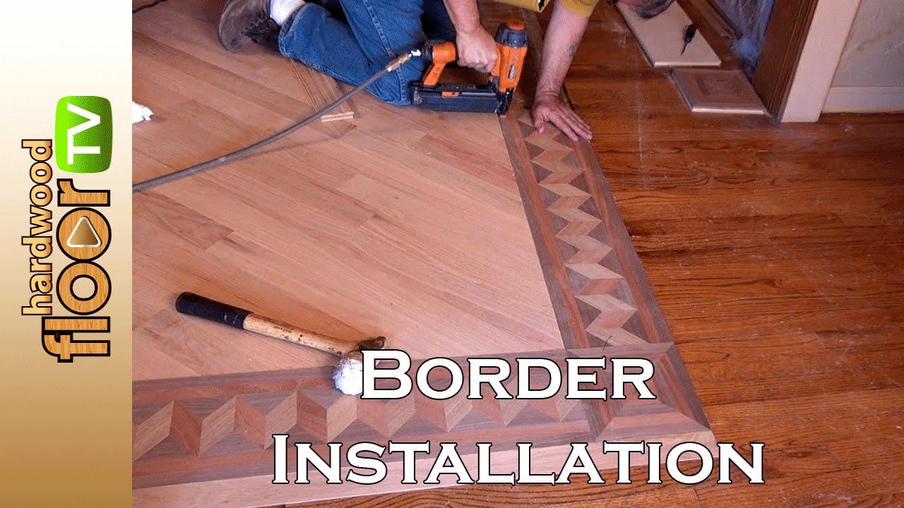 Hardwood Floor Borders hardwood floor borders the savill ii pattern manufactured by pavex parquet http Installing Hardwood Floor Borders