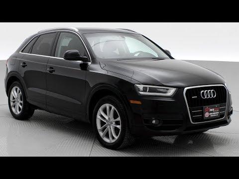 2015 Audi Q3 Technik 2.0T Quattro | Leather, Panoramic Roof, Heated Seats | ridetime.ca
