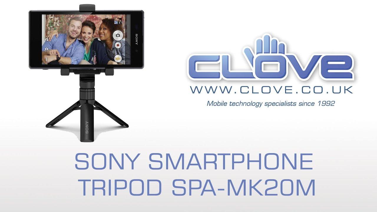 Sony Smartphone Tripod SPA-MK20M - YouTube