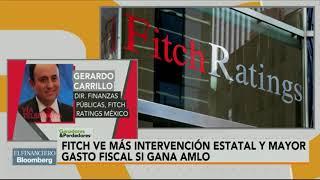 Perspectiva de la calificación para México no cambiaría con elecciones: Fitch Ratings