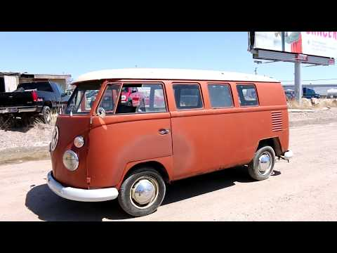 1963 Volkswagen Bus Virtual Tour and Test Drive.  VW Kombi.