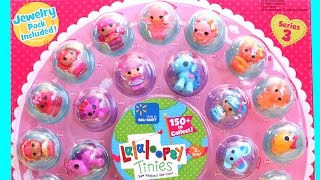 Lalaloopsy Tinies Series 3 Walmart Exclusive Collection with Jewelry Pack