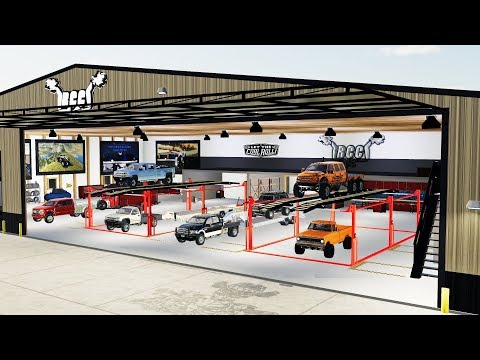 FS19- NEW $600,000 CUSTOM SHOP! (2 STORY SHOP WITH SEMI TRUCK LIFTS) thumbnail