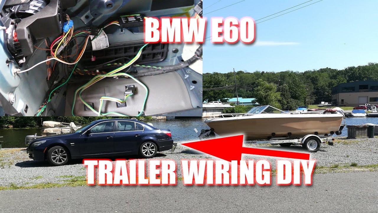 Bmw 5 Series Trailer Hitch Wiring Diy