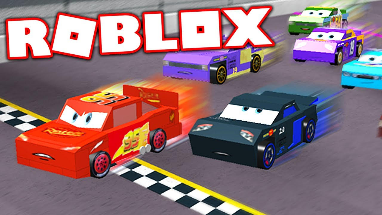 CARS 3 IN ROBLOX! (Roblox Cars 3 Movie) - YouTube