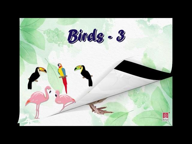 FIRST STEP - JR.KG. - G.K. -Birds PART - III