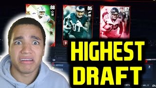 HIGHEST DRAFT SELECTIONS!! MADDEN 17 DRAFT CHAMPIONS