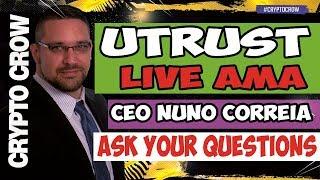 UTRUST Live AMA with Nuno Correia - Paypal Disrupter 😀👥