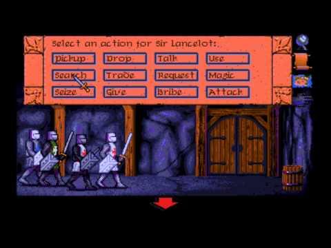 Vengeance of Excalibur (MS-DOS) Intro und Gameplay