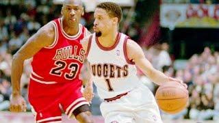Mahmoud Abdul-Rauf- Nuggets vs. Bulls,