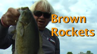 Catching Smallmouth with Otter Tail! Testing Proto Type Lures.