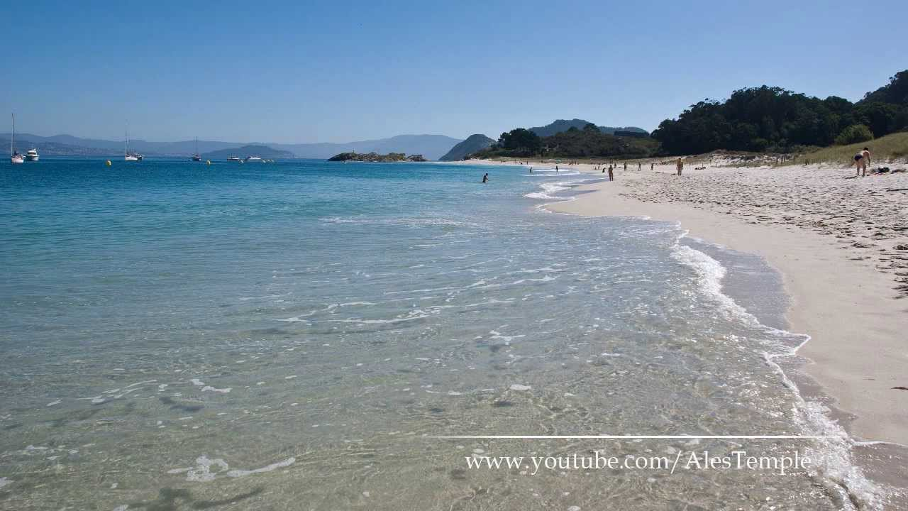Islas Cies - Vigo, Spain - YouTube