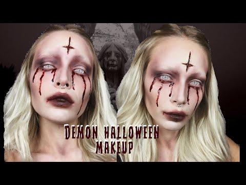 HALLOWEEN MAKEUP - BLOODY DEMON | Silvia Del Mar