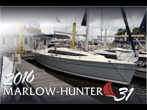 SOLD!!! 2016 Marlow Hunter 31 sailboat for sale at Little Yacht Sales, Kemah Texas