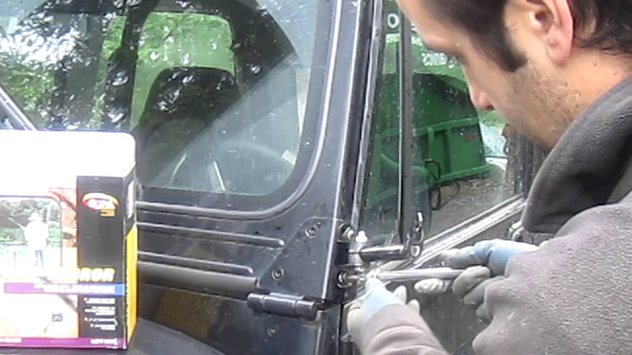Jeep Cj Yj Mirror Replacement Youtube