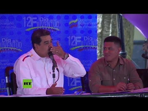 Nicolás Maduro se dirige a Venezuela en el Día de la Juventud