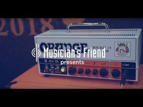 Orange Amplifiers Rocker 15 Terror and Brent Hinds Terror Guitar Amplifier Comparison