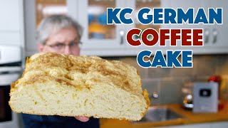 How To Make The 1931 'KC' German Coffee Cake Recipe || Glen & Friends Cooking
