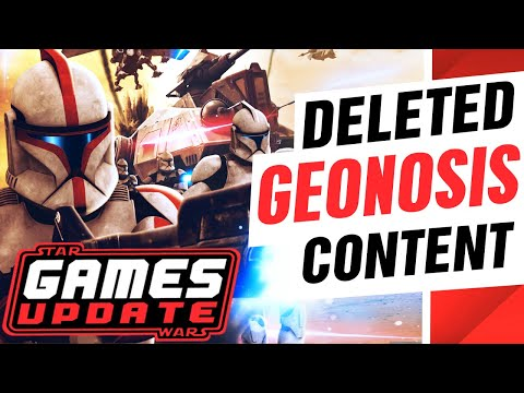 Star Wars Games Drought to END this year! + Battlefront 2 Geonisis Deleted Content | SW Games Update |