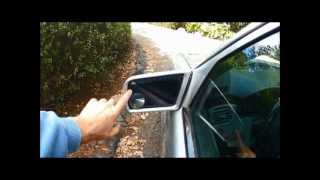 mercedes W210 mirror repair