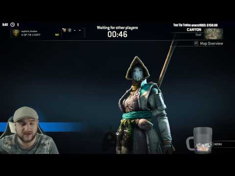 For Honor - Nobushi vs Warden - KEEP THAT VORTEX AWAY FROM ME!