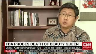 FDA probes death of beauty queen