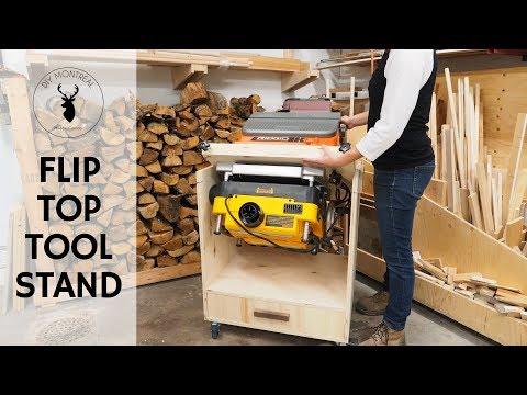 Flip Top Tool Stand || Dewalt Planer / Ridgid Sander